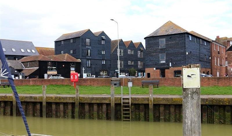 1 Harbour View in Rye - sleeps 2 people