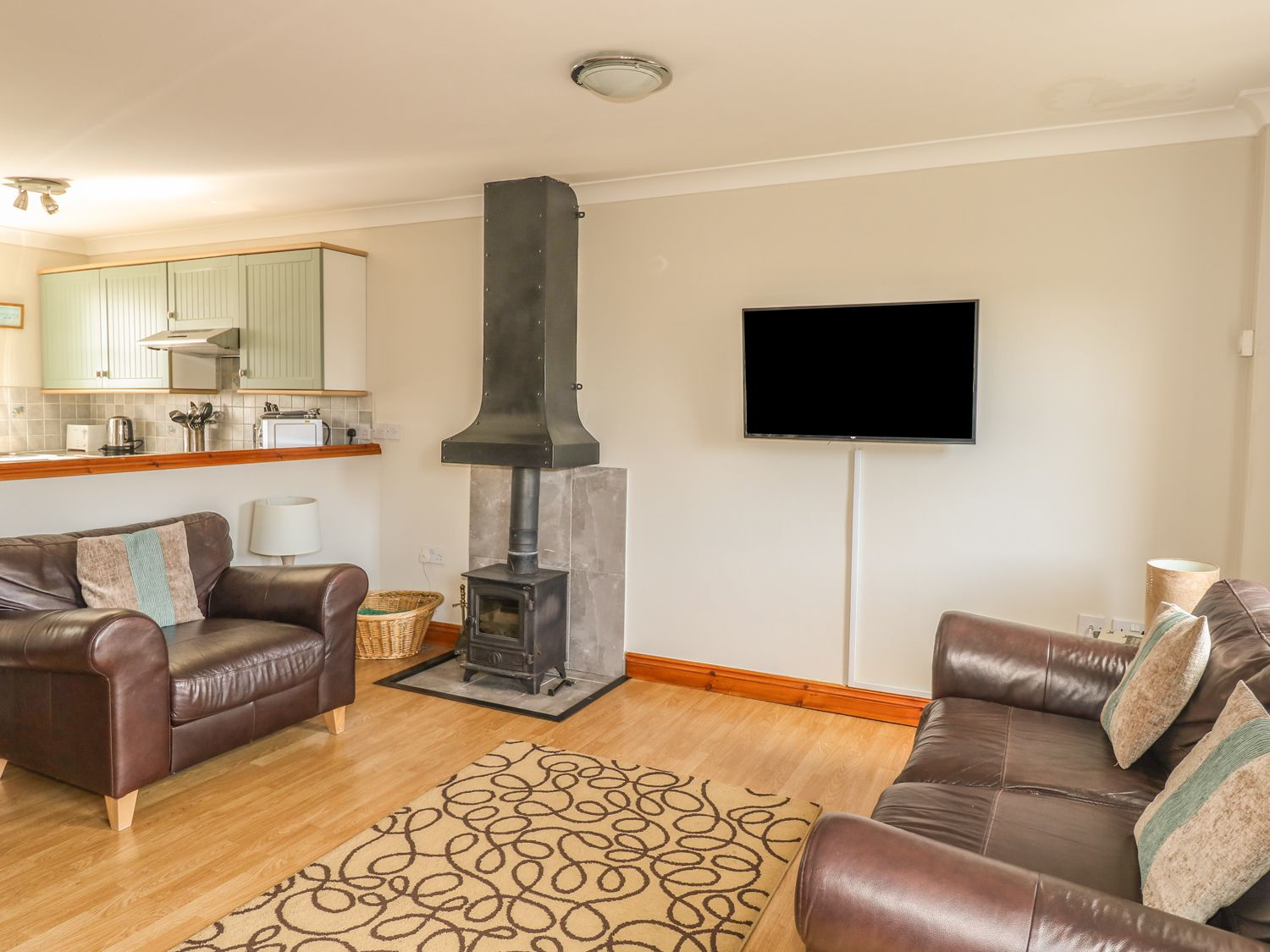 Bluebell Cottage in Juliots Well Holiday Park - sleeps 4 people