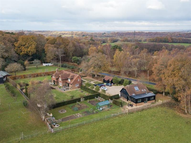 Bramley Lodge in North Chailey - sleeps 4 people