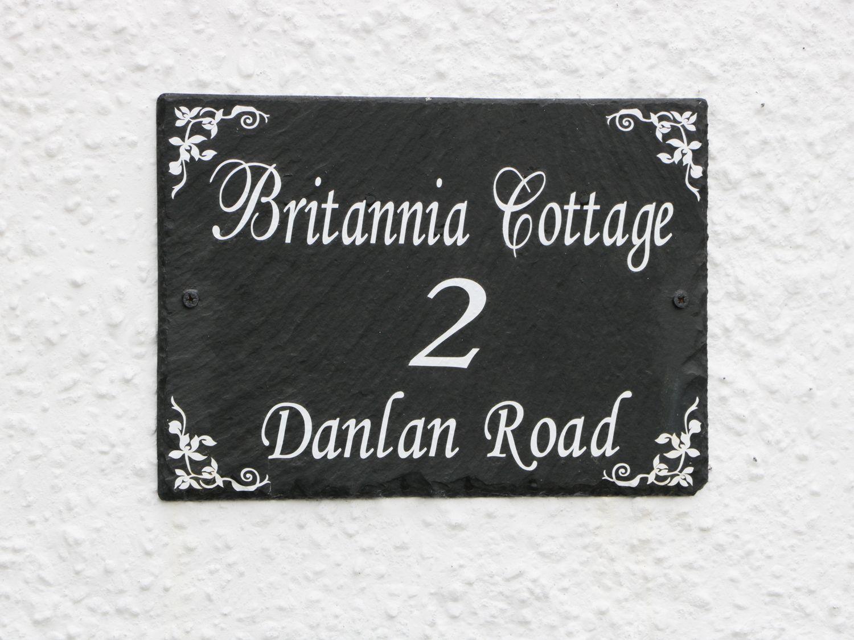 Britannia Cottage in Pembrey - sleeps 3 people