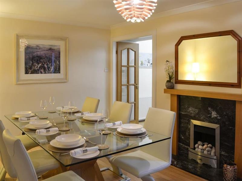 Buckle House in Gatehouse of Fleet, near Kirkcudbright - sleeps 6 people