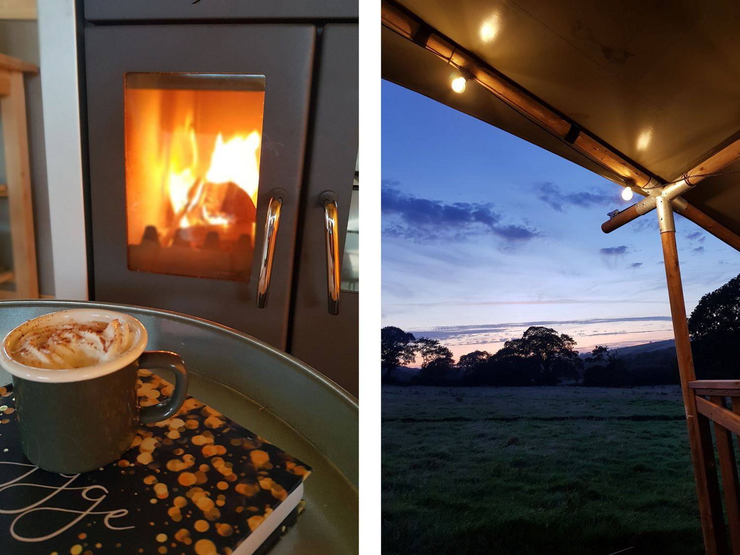 Bumble @ Stars & Embers Glamping in Grampound - sleeps 5 people