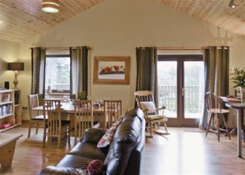 Burnside in Glenalmond, nr. Crieff - sleeps 6 people