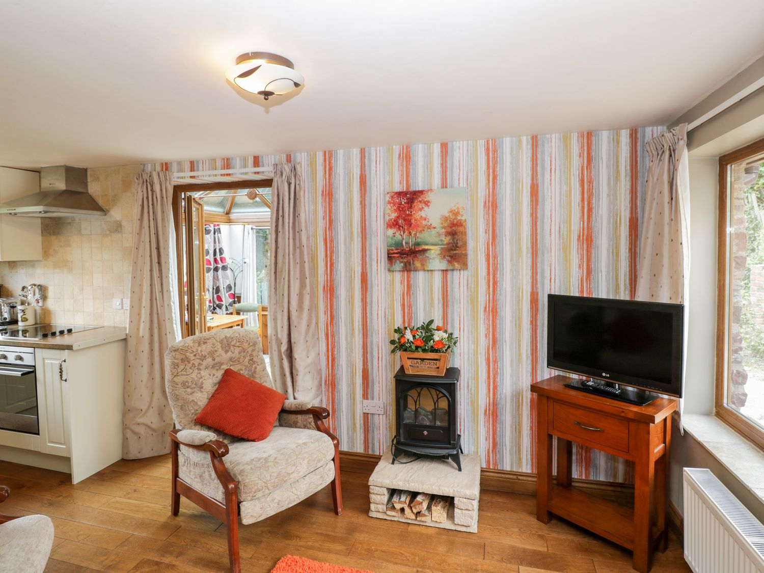 Calcott Annexe in Whitchurch - sleeps 2 people