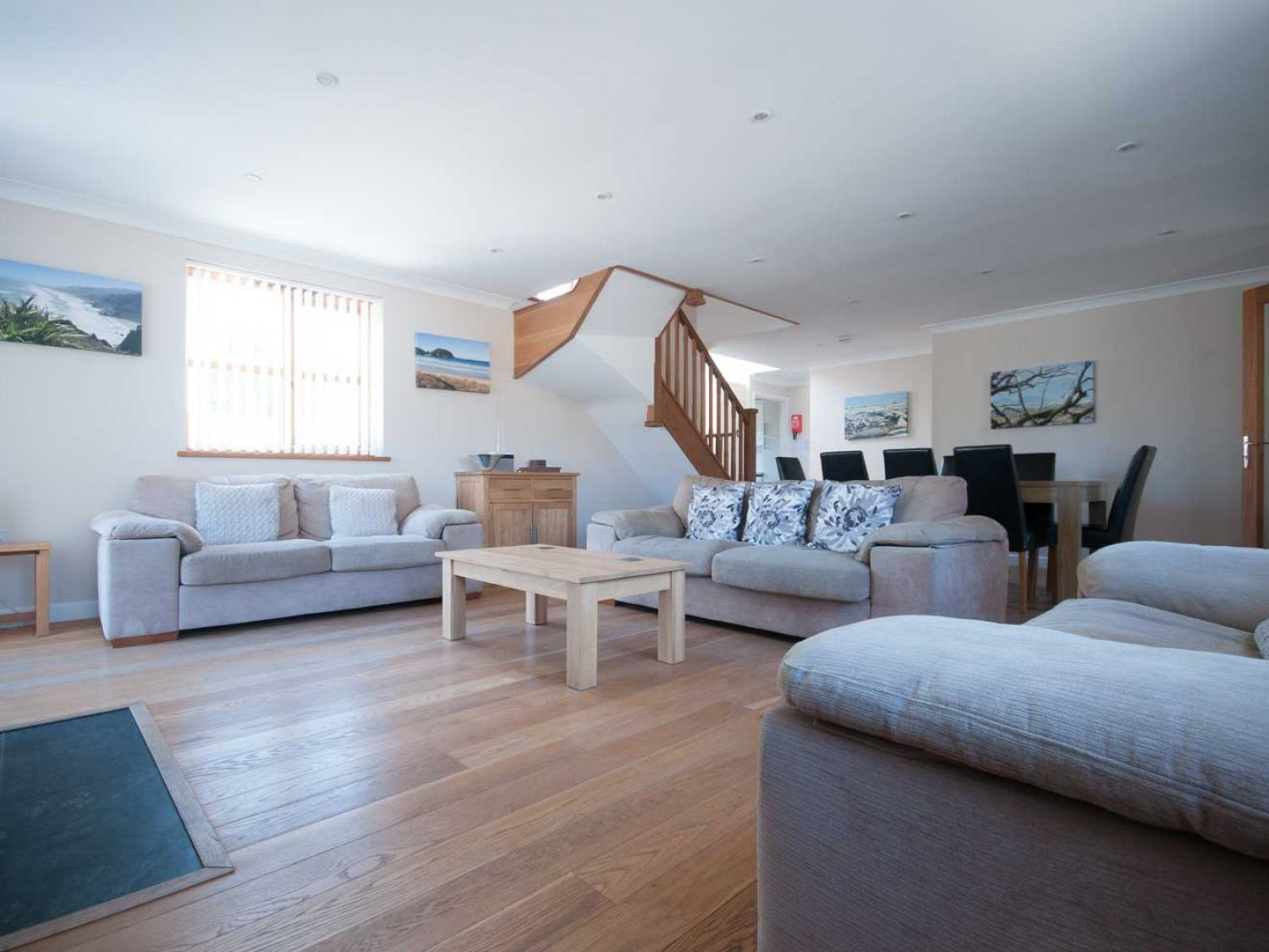 Carpe Diem in Crantock - sleeps 8 people