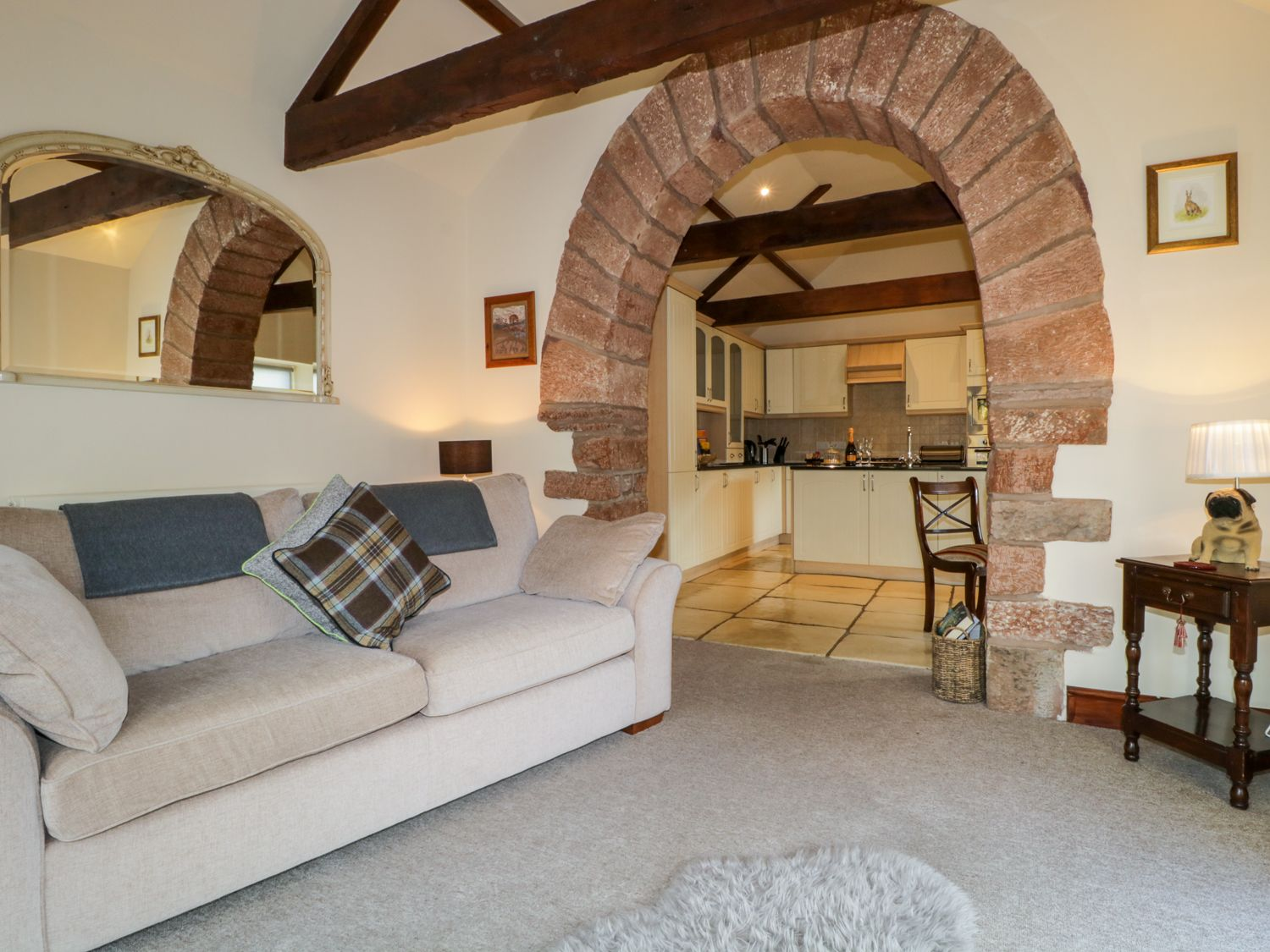 Carwinley Mill House Cottage in Longtown - sleeps 2 people
