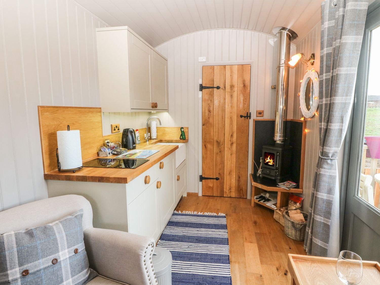Cassie's Shepherd's Hut in Benllech - sleeps 2 people