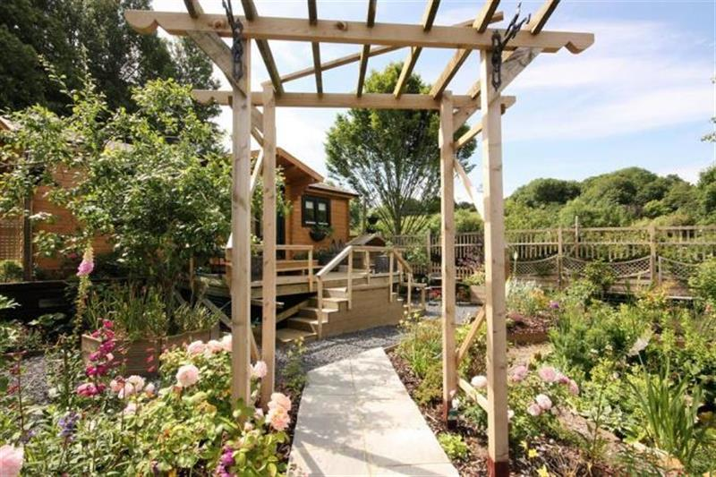 Chalet Monet in Bridport - sleeps 2 people