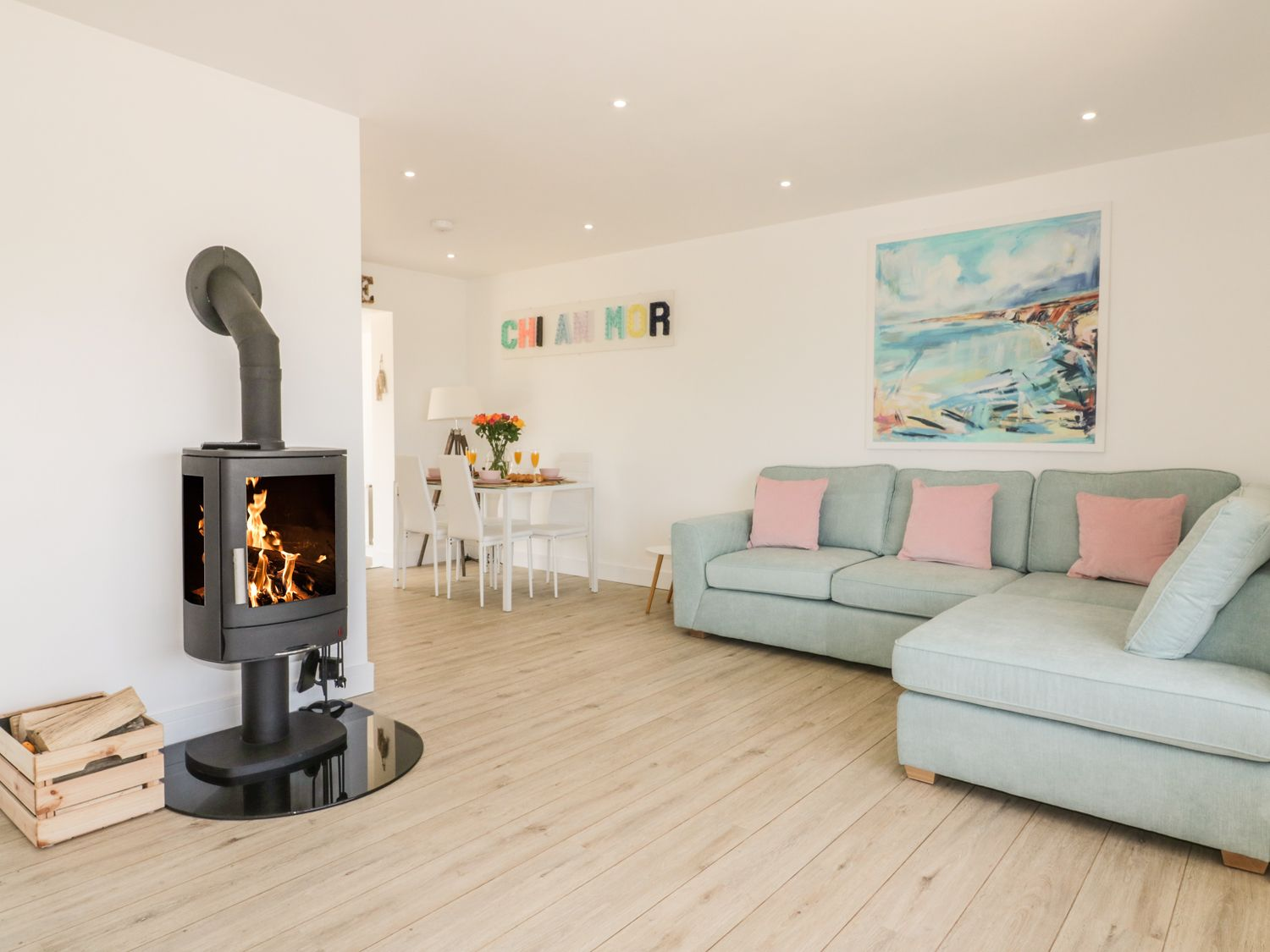 Chi An Mor in Porth - sleeps 4 people