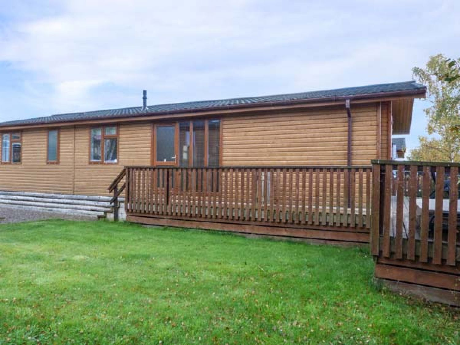 Clachnaben View Lodge in Banchory near Aberdeen - sleeps 8 people