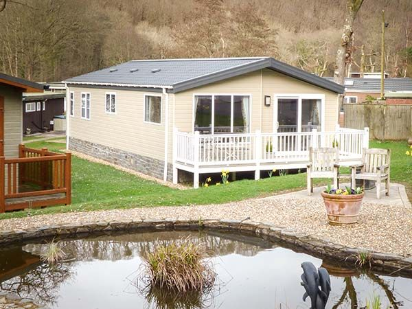 Clearwater Lodge in Llanarth near New Quay - sleeps 4 people