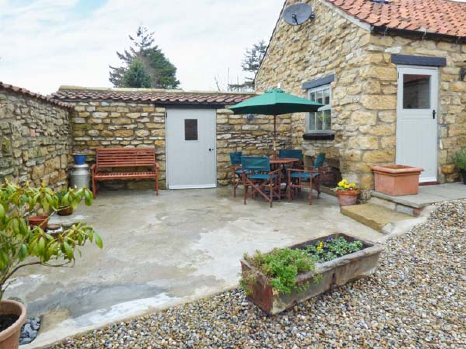 Cow Byre Cottage in Snainton near Scarborough - sleeps 2 people