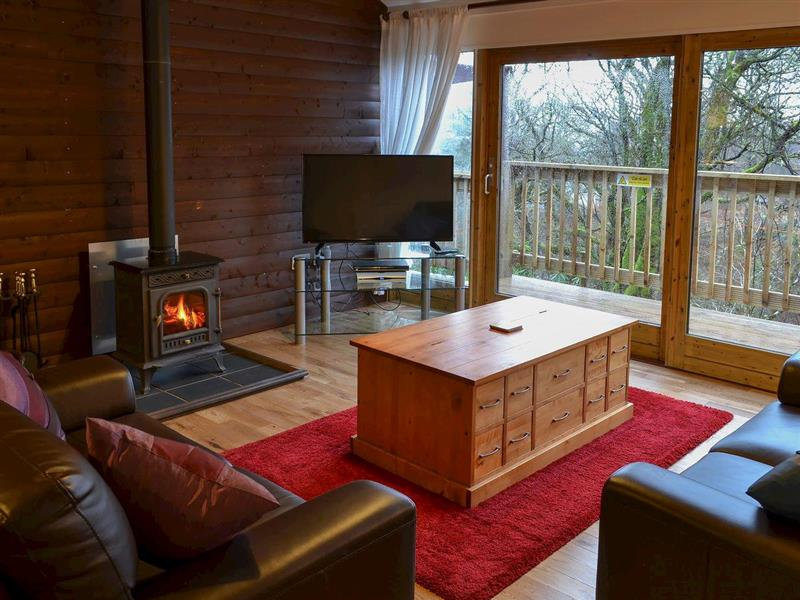 Cruachan Lodge in Lochawe, Argyll & Bute - sleeps 4 people