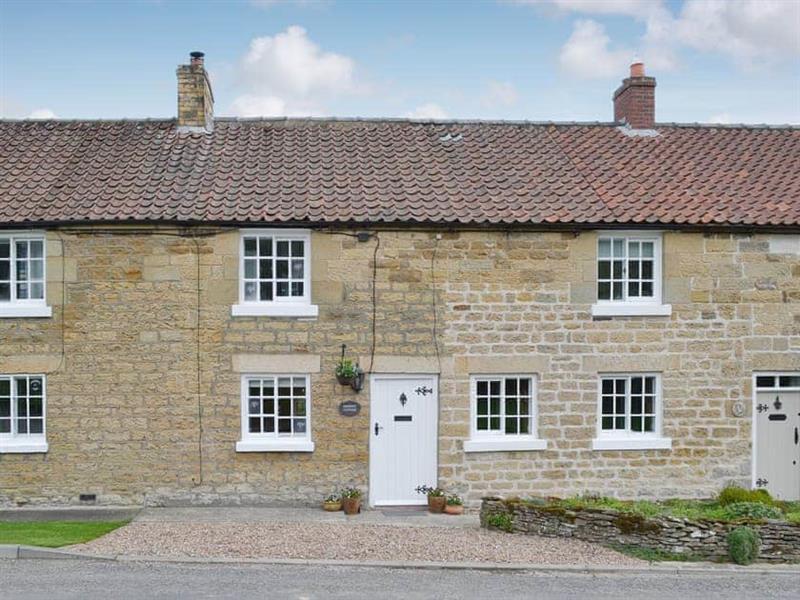 Derwent Cottage in Wrench Green, near Scarborough - sleeps 3 people