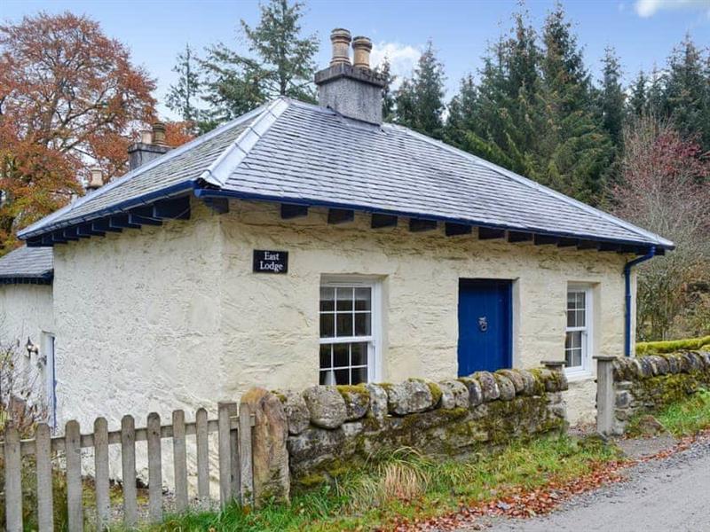 East Lodge in Enochdhu, near Pitlochry - sleeps 6 people