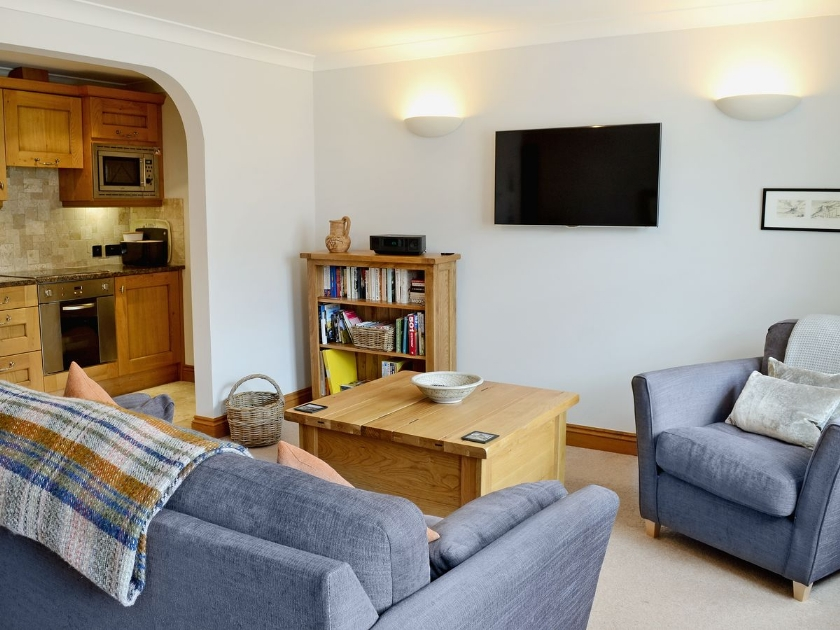 Ebba's Neuk in Chathill - sleeps 2 people