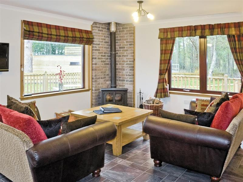 Forest Lodge in Wester Lovat, nr. Beauly - sleeps 2 people