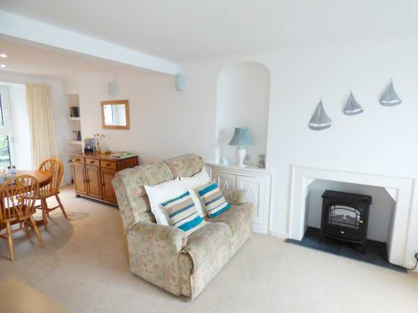 Glanmor in Polruan near Polperro - sleeps 3 people
