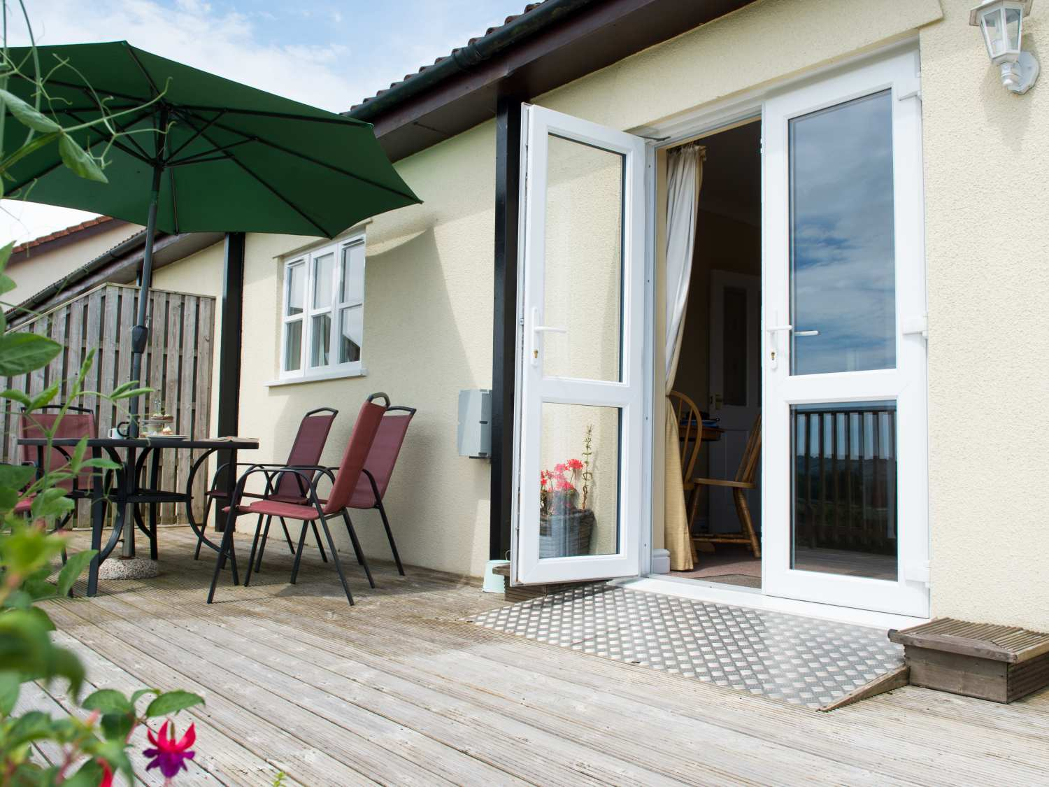 Greenfields in Upottery near Honiton - sleeps 4 people