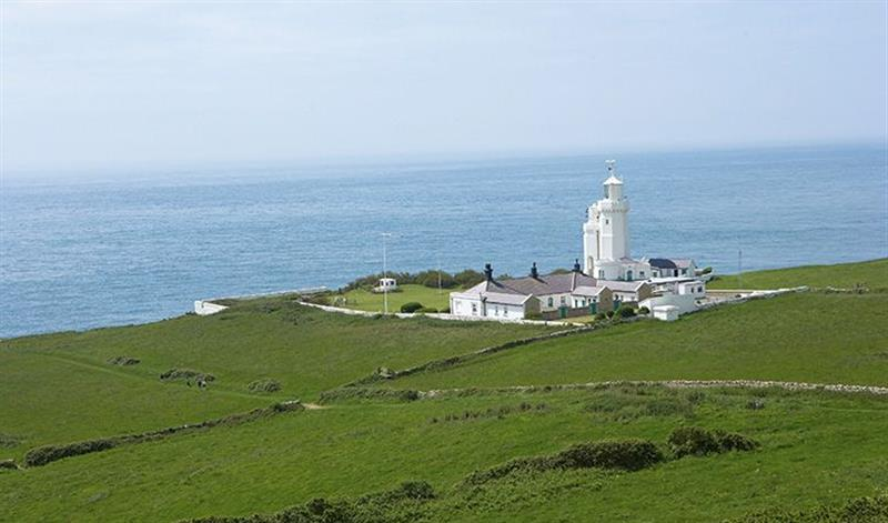 Gurnard Cottage in St Catherines Lighthouse - sleeps 5 people