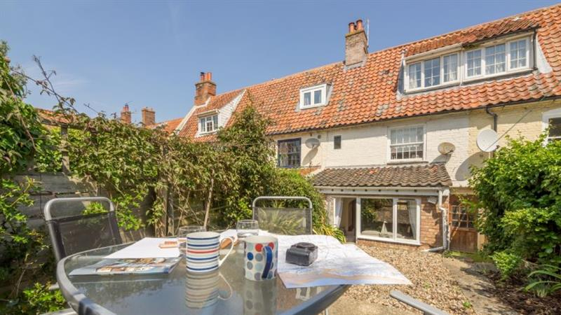 Harbour View Cottage in Wells-next-the-Sea - sleeps 4 people