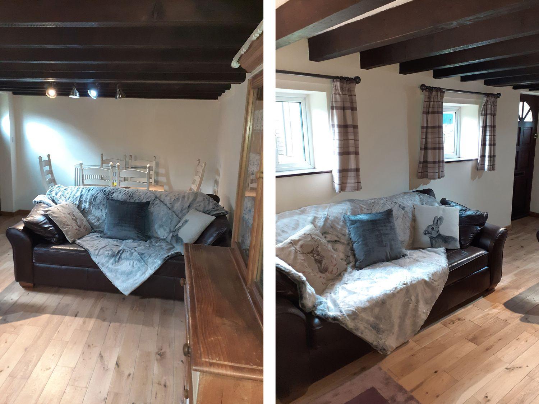 Hoo Brook Cottage in Butterton - sleeps 6 people