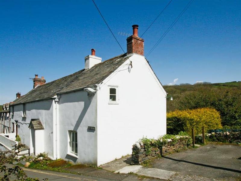 Ivy Cottage in Boscastle, Cornwall. - sleeps 6 people