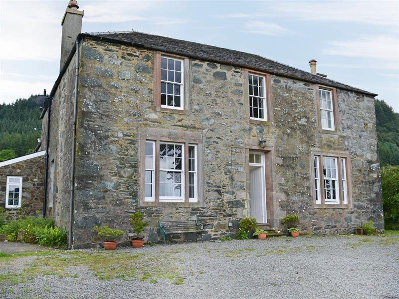 Kames House in Kilmelford, near Oban, Argyll and Bute - sleeps 8 people