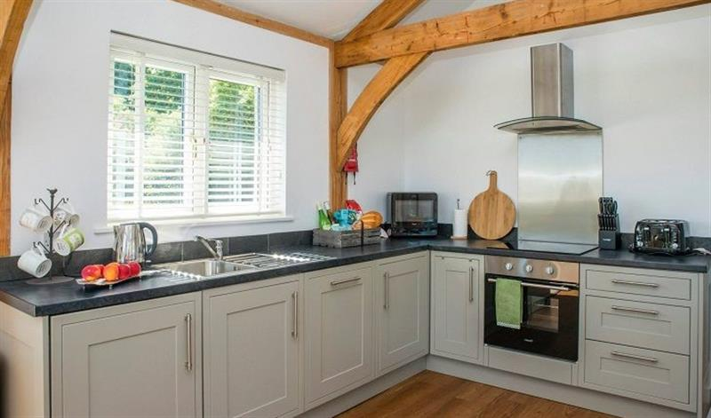 Larch Barn in North Perrott - sleeps 4 people