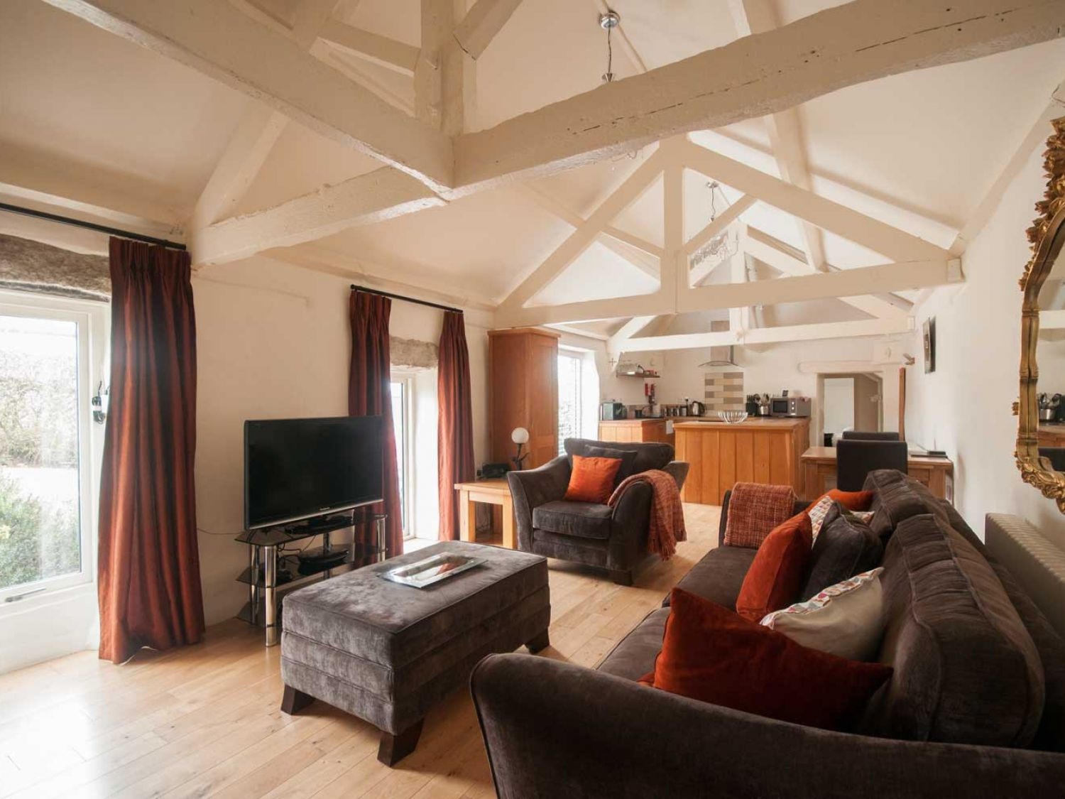 Lavender Barn in Crantock - sleeps 2 people