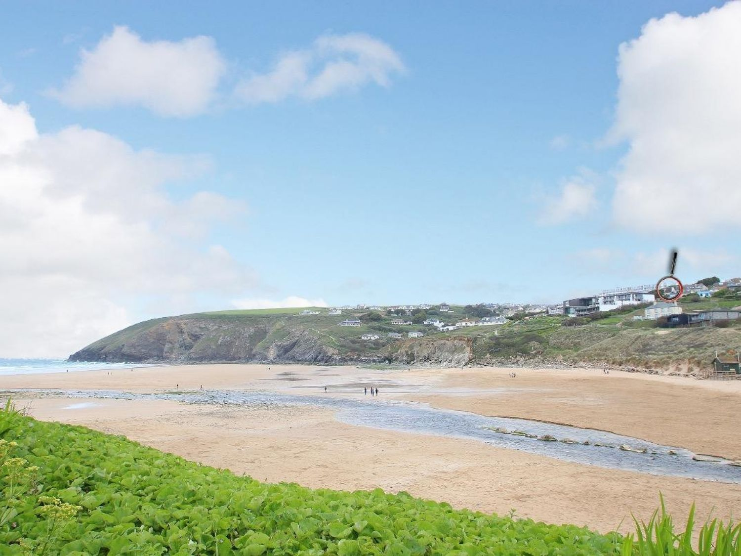 Little Trelawns in Mawgan Porth - sleeps 4 people