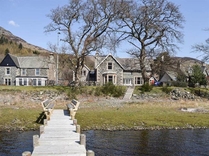 Lochearnside Lodge in St Fillans, near Crieff - sleeps 2 people