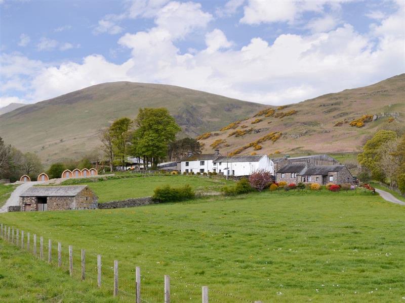 Lowside Farm Lodges - Swallow Bank Lodge in Troutbeck, near Keswick - sleeps 4 people