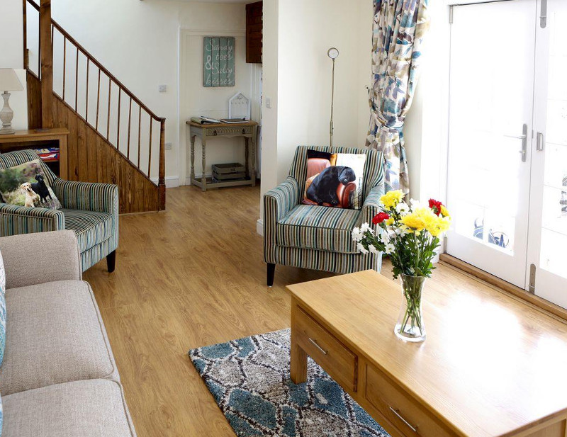 Manor Cottage in West Pentire, Cornwall. - sleeps 4 people