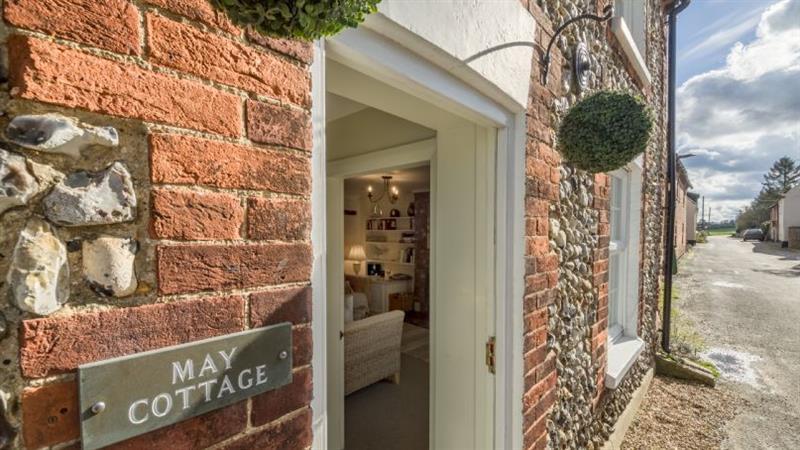 May Cottage in South Creake near Fakenham - sleeps 4 people