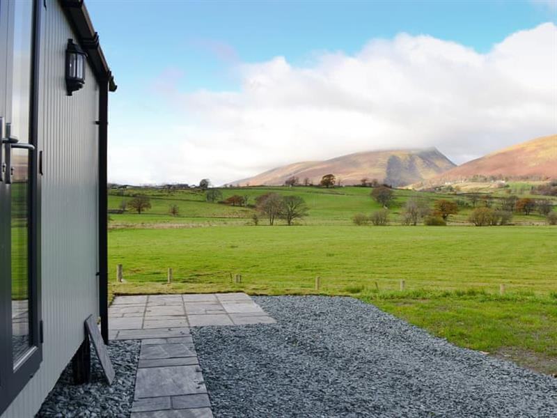 Mire House Shepherds Huts - Blencathra in Threlkeld, near Keswick - sleeps 2 people