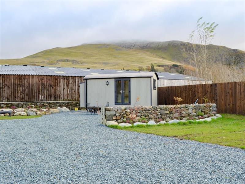 Mire House Shepherds Huts - Skiddaw in Threlkeld, near Keswick - sleeps 2 people