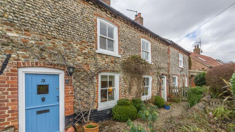 Muckledyke Cottage in Stiffkey near Wells-next-the-Sea - sleeps 4 people