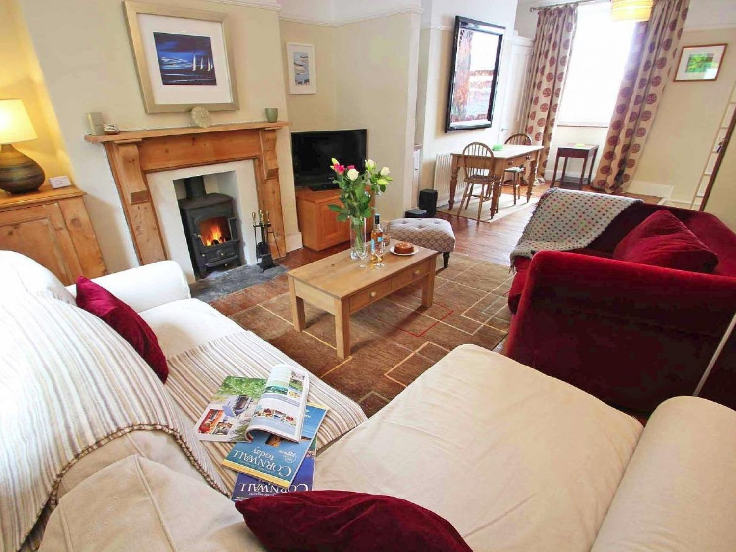 Neptune in Falmouth - sleeps 4 people