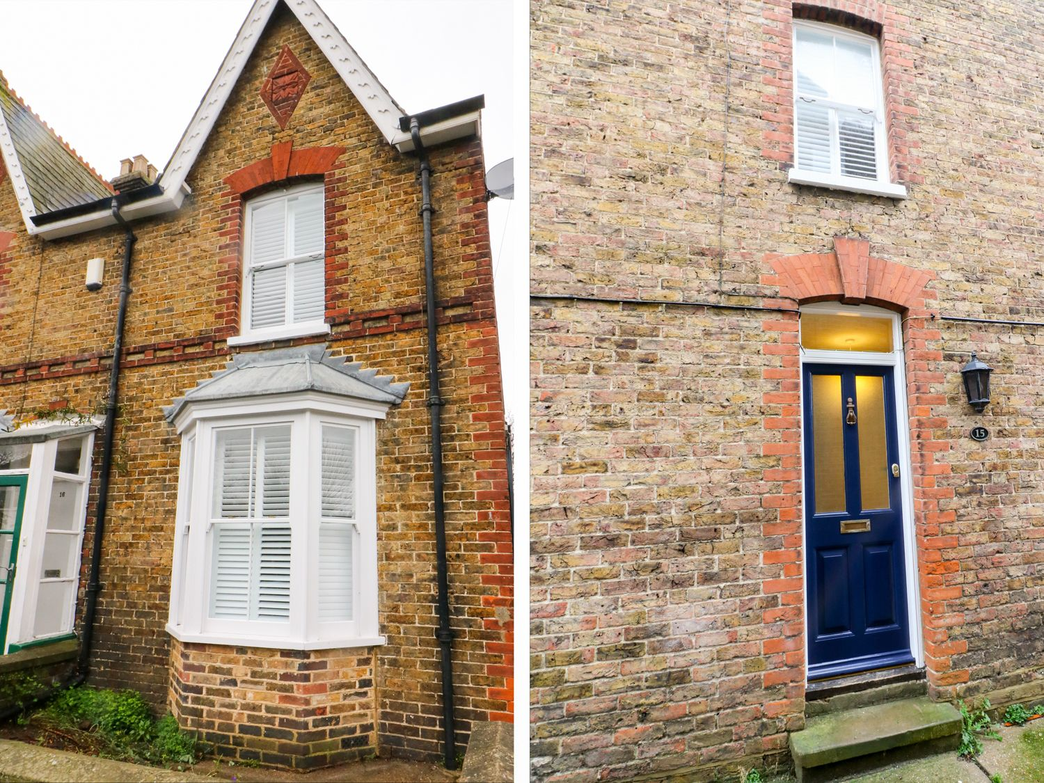 Newden Cottage in Whitstable - sleeps 6 people