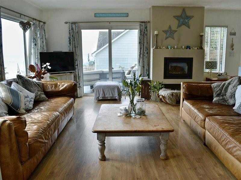 Oyster Catcher and Seaglass - Seaglass in Heybrook Bay, near Plymouth - sleeps 6 people