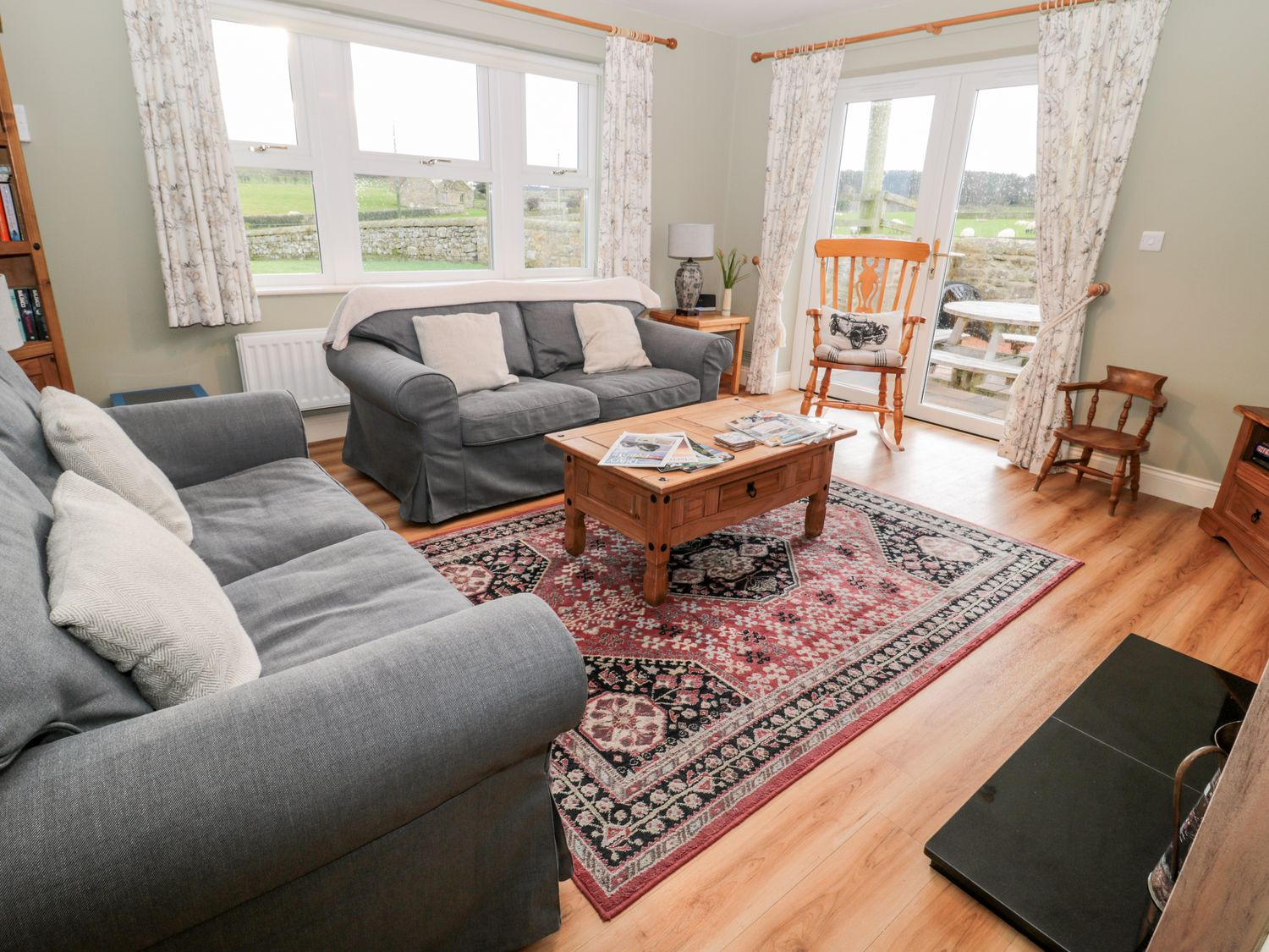 Pasture View in Chathill near Lucker - sleeps 4 people