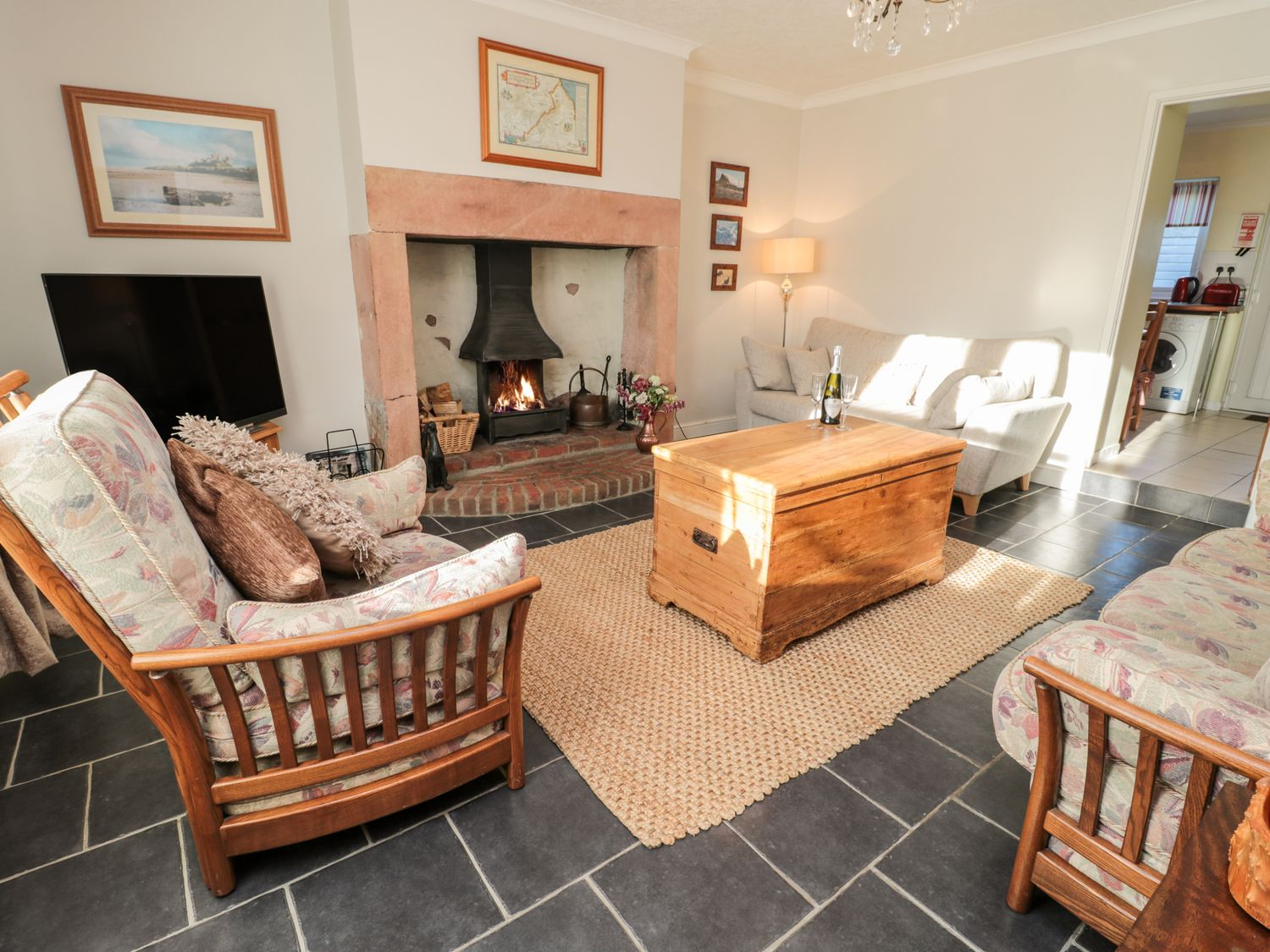 Peth Head Cottage in Wooler - sleeps 6 people