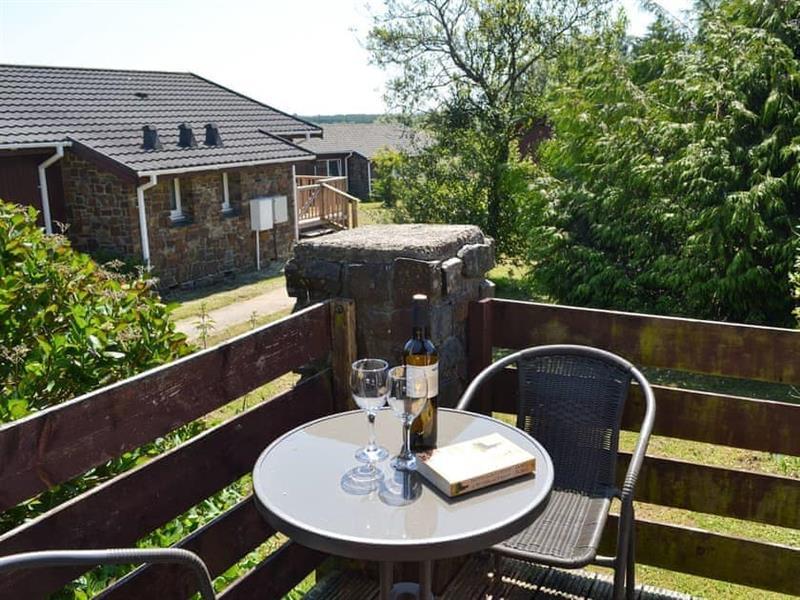 Pleasant Spot Lodge in Hartland Forest, near Bideford - sleeps 4 people