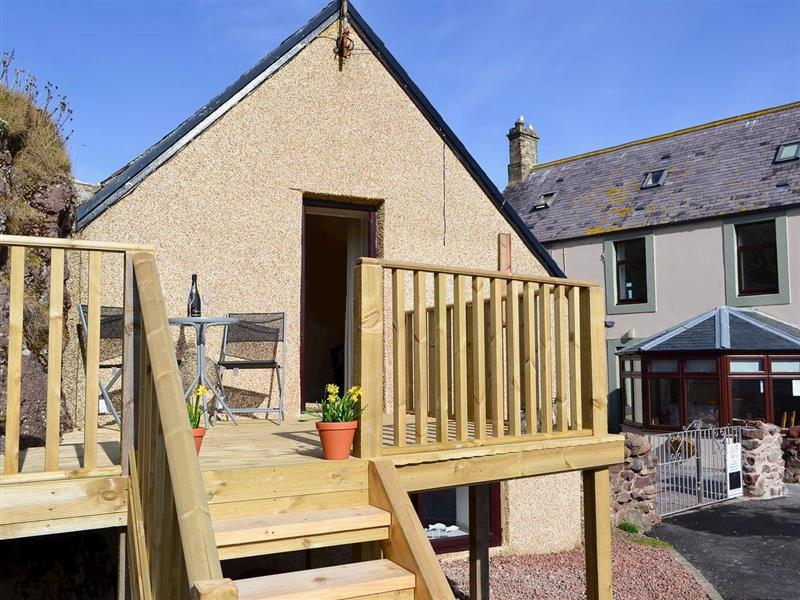 Rock Cottage in St Abbs, near Eyemouth, The Scottish Borders - sleeps 2 people