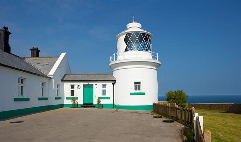 Rowena Cottage in Anvil Point Lighthouse - sleeps 5 people