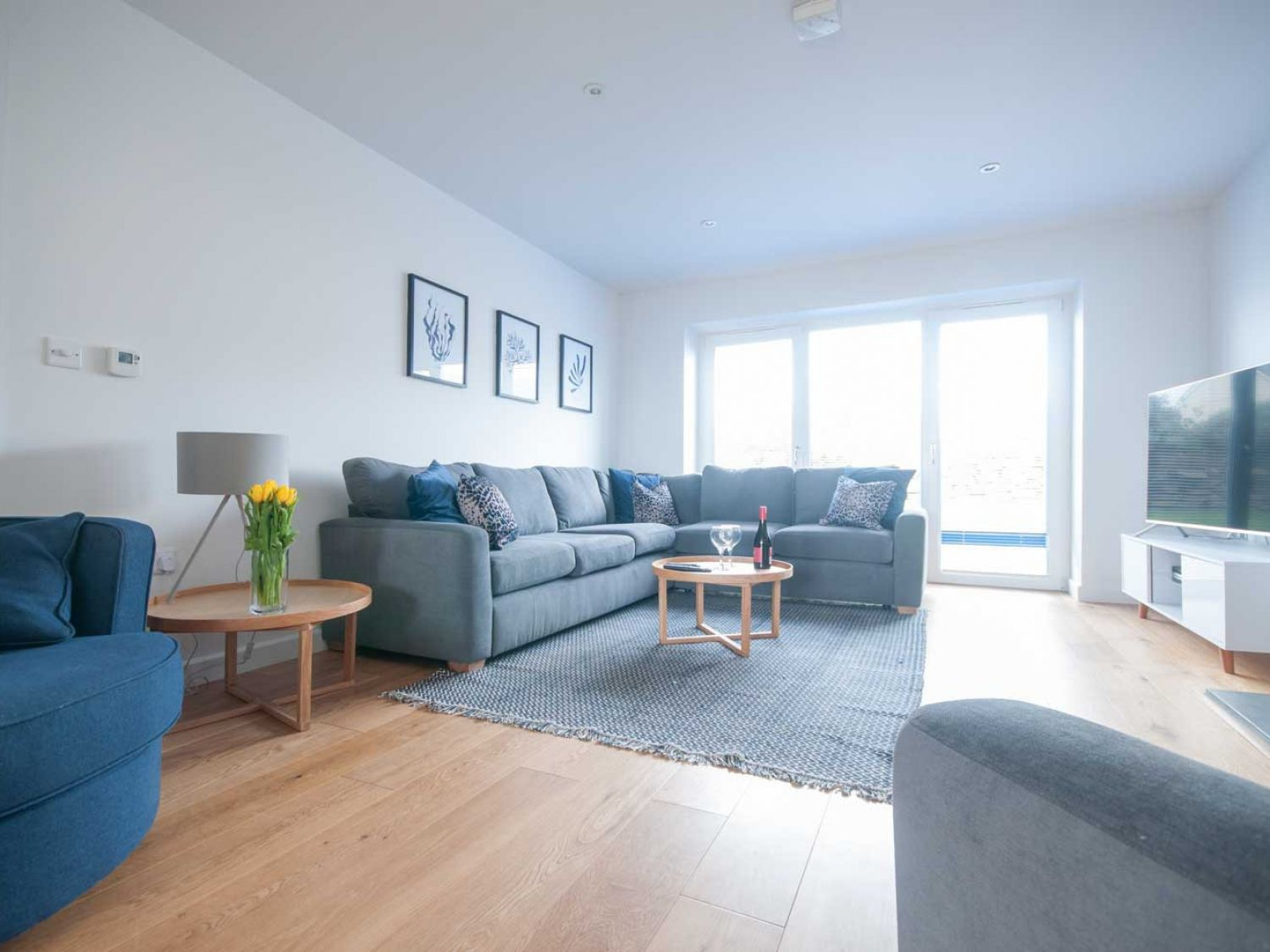 Seal Cove in Crantock - sleeps 8 people