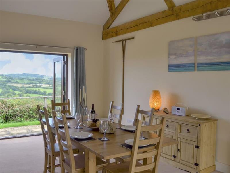 Smiths Farm Cottages - The Barn in Charmouth, near Lyme Regis - sleeps 4 people