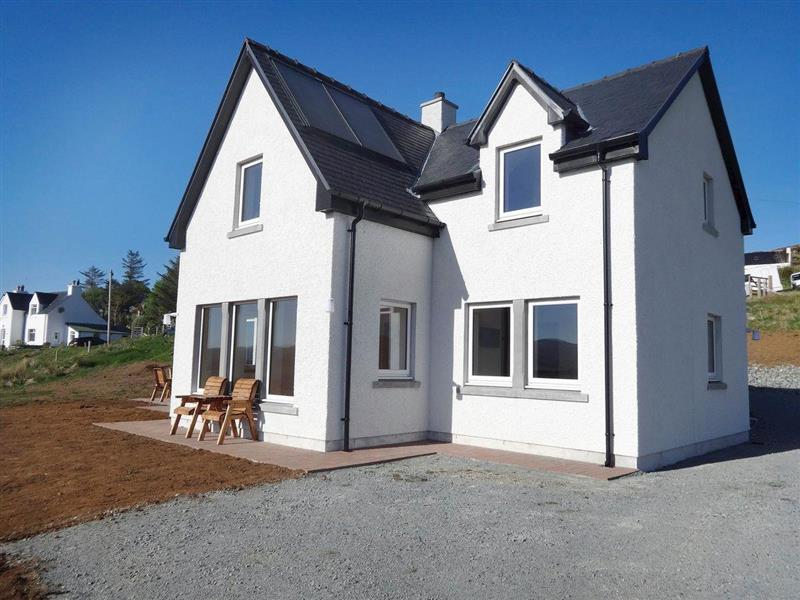 Springbank in Upper Edinbane, near Portree - sleeps 6 people