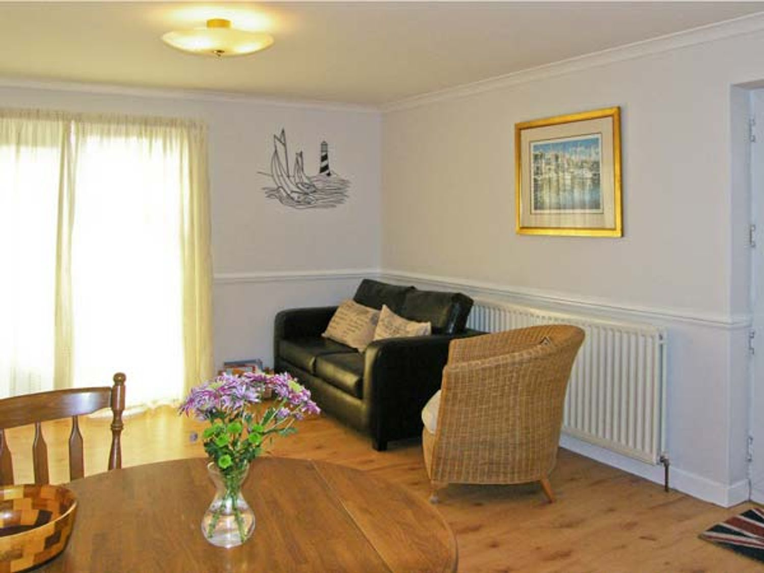 Sunset Cottage in Beadnell - sleeps 4 people